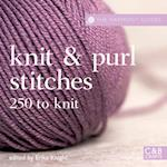 Knit and Purl Stitches (Harmony Guides)