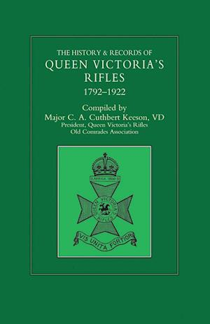 Bog, paperback History & Records of Queen Victoria's Rifles 1792-1922 Volume Two af Maj C a Cuthbert Keeson VD