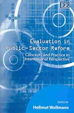Evaluation in Public Sector Reform af Hellmut Wollmann