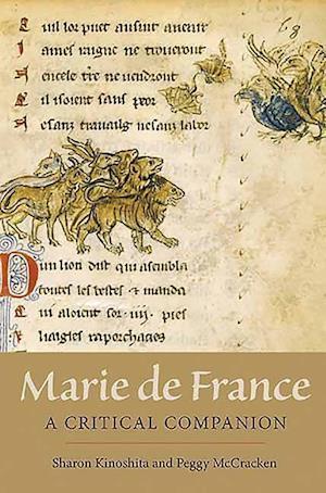Bog, hardback Marie de France af Sharon Kinoshita, Peggy McCracken