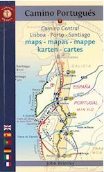 Camino Portugues Maps - Mapas - Mappe - Karten - Cartes af John Brierley