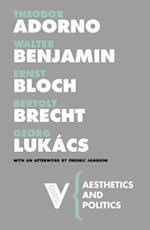 Aesthetics and Politics af Walter Benjamin, Theodor W Adorno, Georg Lukacs