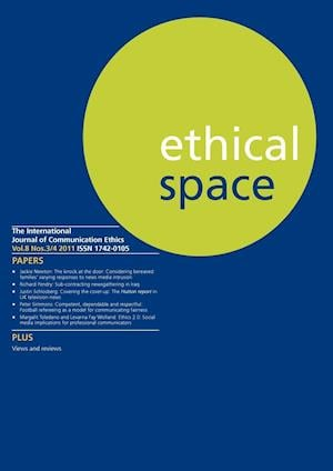 Ethical Space Vol.8 Issue 3/4 af Richard Lance Keeble, Donald Matheson