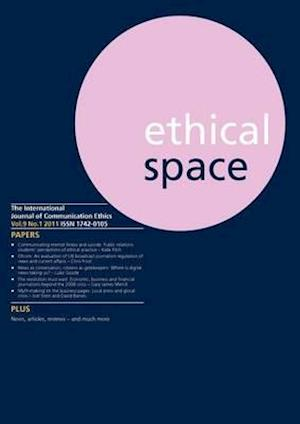 Ethical Space Vol.9 Issue 1 af Donald Matheson, Richard Lance Keeble
