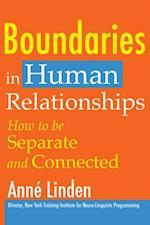 Boundaries in Human Relationships af Anne Linden