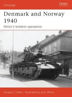 Denmark and Norway 1940 af John White, Doug Dildy