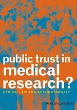 Public Trust in Medical Research? af Philip Cheung