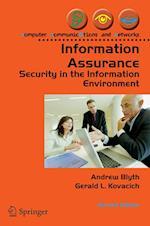 Information Assurance af Andrew Blyth, Gerald Kovacich