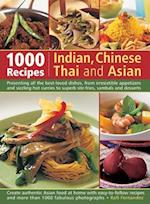1000 Recipes Indian, Chinese, Thai and Asian af Rafi Fernandez