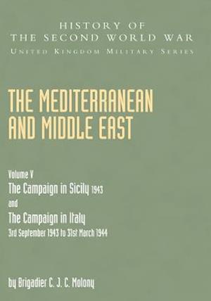 Bog, paperback Mediterranean and Middle East Volume V af Brigadier C J C Molony