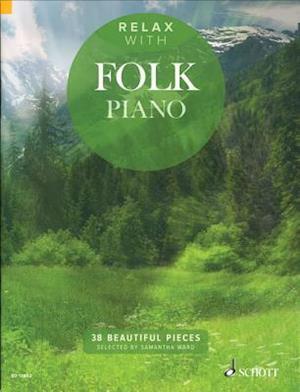 Bog, paperback Relax With Folk Piano af Hal Leonard Publishing Corporation
