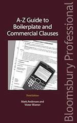 A-Z Guide to Boilerplate and Commercial Clauses