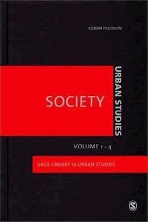 Urban Studies af W J M Ostendorf, Ronan Paddison, S M Parnell