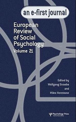 European Review of Social Psychology af Miles Hewstone, Wolfgang Stroebe
