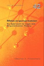 Meta-Argumentation. an Approach to Logic and Argumentation Theory af Maurice A. Finocchiaro
