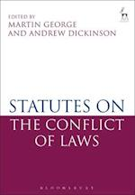 Statutes on the Conflict of Laws af Martin George