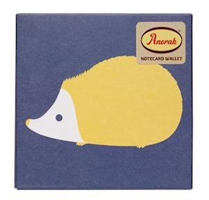 Anorak Kissing Hedgehogs Notecard Set af Quadrille Publishing