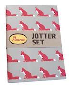 Anorak Proud Fox Jotter Set af Quadrille Publishing