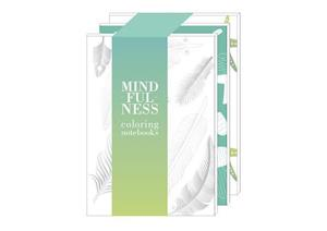 Mindfulness Coloring Set of Three Notebooks af Holly MacDonald