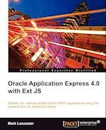 Oracle Application Express 4.0 with Ext Js af Mark Lancaster
