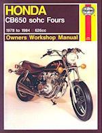 Honda CB650 Fours Owner's Workshop Manual af Martyn Meek, Mark Coombs