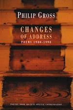 Changes of Address af Philip Gross