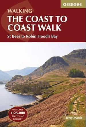 Bog, paperback The Coast to Coast Walk af Terry Marsh