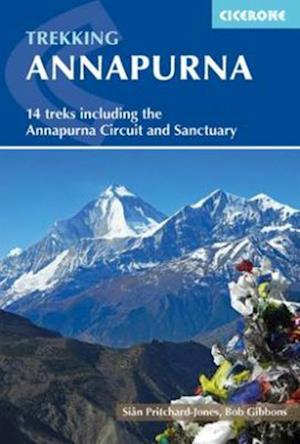 Bog, paperback Trekking Annapurna af Bob Gibbons, Sian Pritchard jones