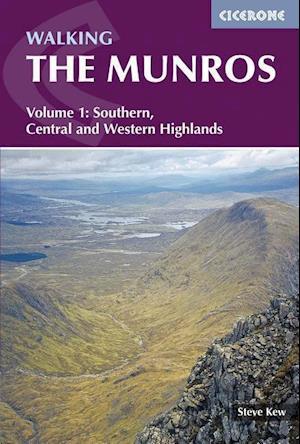 Bog, paperback Walking the Munros Volume 1 af Steve Kew