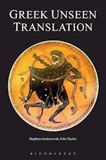Greek Unseen Translation af Stephen Anderson, John Taylor