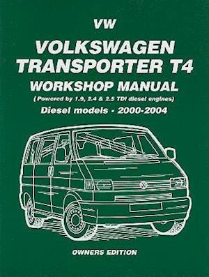 Volkswagen Transporter T4 Workshop Manual Diesel 2000 on af Brooklands Books Ltd