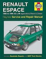 Renault Espace Service and Repair Manual (Haynes Service and Repair Manuals, nr. 3197)