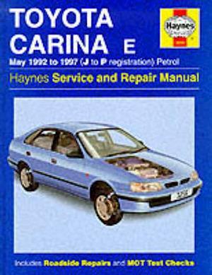 Bog, paperback Toyota Carina E Service and Repair Manual af A K Legg, John S Mead