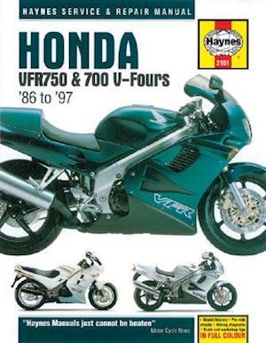 Honda Vfr750 and 700 V-Fours 1986 Thru 1997 af Mark Coombs, John Haynes, Jeremy Churchill