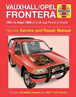 Vauxhall Frontera Service and Repair Manual (Haynes Service and Repair Manuals)