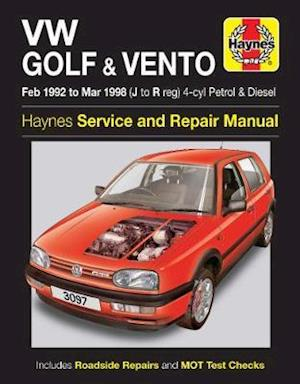 VW Golf and Vento Service and Repair Manual af Mark Coombs