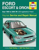 Ford Escort and Orion Service and Repair Manual (Haynes Service and Repair Manuals)