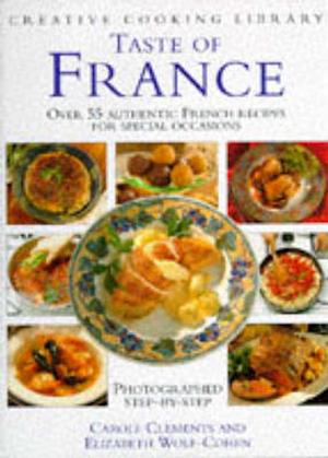 Bog, hardback Taste of France af Carole Clements