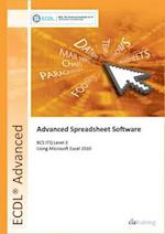 ECDL Advanced Syllabus 2.0 Module AM4 Spreadsheets Using Excel 2010
