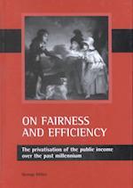 On Fairness and Efficiency af George Miller