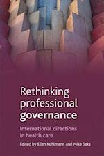 Rethinking Professional Governance af Ellen Kuhlmann