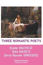 Three Romantic Poets
