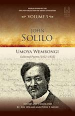 John Solilo (Publications of the Opland Collection of Xhosa Literature)