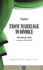 From Marriage to Divorce af Georges Feydeau