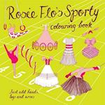 Rosie Flo's Sporty Colouring Book af Roz Streeten