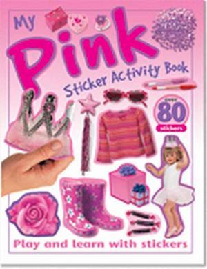Bog, paperback My Sticker Activity Book - Pink