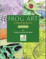 Frog Art Coloring Book Volume 1