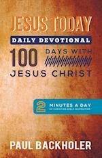 Jesus Today, Daily Devotional - 100 Days with Jesus Christ af Paul Backholer