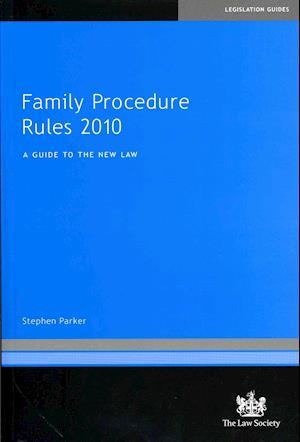 Family Procedure Rules 2010 af Stephen Parker