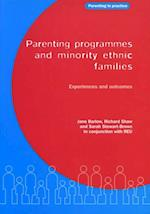Parenting Programmes and Minority Ethnic Families af Sarah, Richard, Shaw
